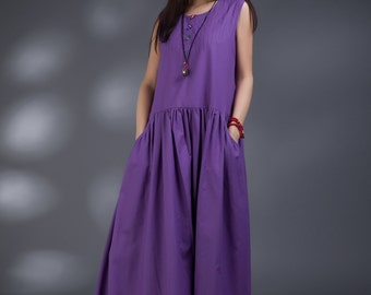 Flax Tank Dress(more colour and size choice)