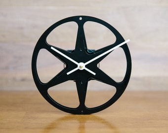 8mm Film Reel Wall Clock