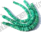 Amazonite Faceted Nuggets (Quality AA) /  7 to 12 mm / 28 to 30 Grms / 18 cm / AM-042