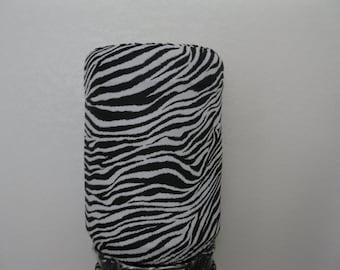 5 Gallon Bottle cover-Black Zebra