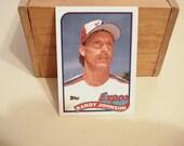 Randy Johnson, Randy Johnson Rookie, Montreal Expos, The Big Unit, Baseball Card, Hall Of Famer, Mlb, Baseball, 300 Game Winner, Mariners