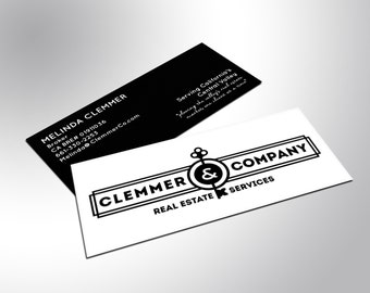 500 Mini Business Cards with Matte Finish and Spot UV
