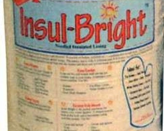 """Insul-Bright Batting 45"""" Wide Insulation Material for Hot and Cold Sold by the Half Yard (45 cm)"""