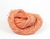Paper Yarn - Paper Twine: Coral / Salmon - 131 yards (120m) - Knit, crochet, textile arts, DIY supply