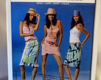 Burda 8039, Skirt Sewing Pattern, Burda Young Fashion, Sizes 6 to 18, New and Uncut