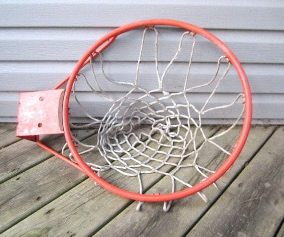 old school basket ball hoop. Black Bedroom Furniture Sets. Home Design Ideas