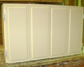 Custom for HATHA GBEDAWO Bi-Fold doors on a small Cabinet - TV cover