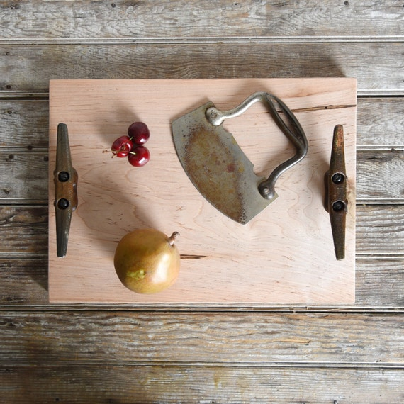 Cutting and Serving Tray by Peg and Awl