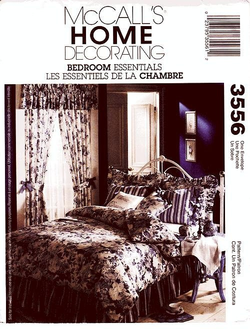 mccall 39 s home decor pattern 3556 bedroom essentials