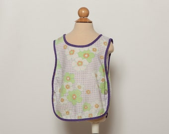 1970s toddler girl's summer smock - vintage 70s top