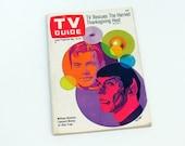 1967 TV Guide Star Trek Cover Nimoy Shatner Pop Art Nov 18-24