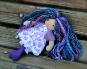 Meet Lavender ...a wee 8 inch Short Story Waldorf Doll by Once Upon A Doll