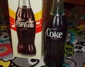 1970's Coca-Cola Bottle Radio Original Box and Instructions