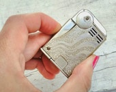 1930s Ready Vintage Antique Lighter Rare Deco Squeeze Mechanism
