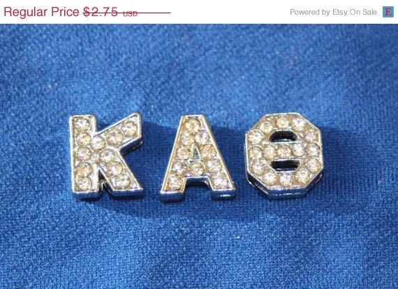 Items similar to kappa alpha theta rhinestone greek letter for Greek letters for sale