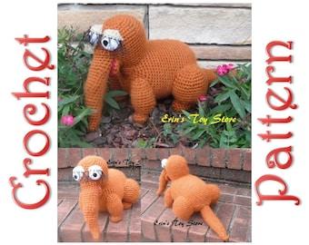 Snuffy A Crochet Pattern by Erin Scull