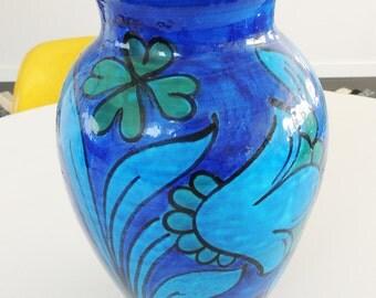 Mid-Century Rosenthal Netter BITOSSI Rimini large Blue Vase