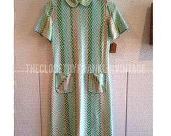 Vintage 60s Scooter Dress