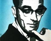 Morrissey Portrait - Poster