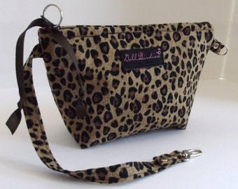 Grab and Go Wristlet, Mini Purse, Cosmetic Bag