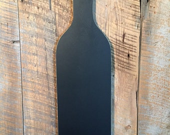 Wine Bottle Chalkboard Wall Art