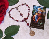 Chaplet of St. Mary Magdalene from the Special Edition Handcrafted Art Chaplets & Prayer Beads Series, Unbreakable Heirloom Cast Bronze