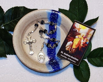 Unbreakable Chaplet of St. Andrew Avellino - Patron Saint of Stroke Victims and Against Sudden Death