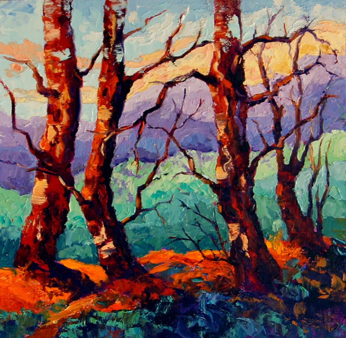 Huile impressionniste moderne peinture de paysage peinture for Moderne landschaftsbilder