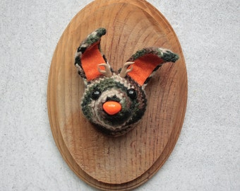 Faux Taxidermy Camouflage Jackalope