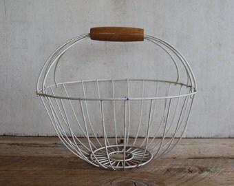 Vintage Farmhouse Egg Basket