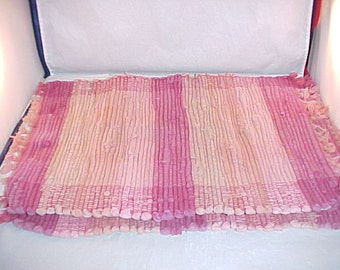 Rag Rug Table Place Mats Set of 4