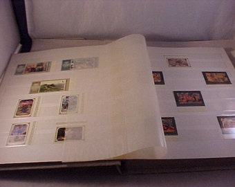 Soviet Union Postage Stamp Album - 1980s to 1993