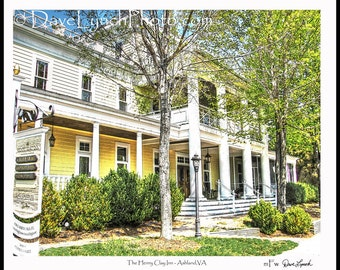 The Henry Clay Inn  - Ashland VA  - Fine Art Photography print by Dave Lynch - Free Shipping on any additional purchase
