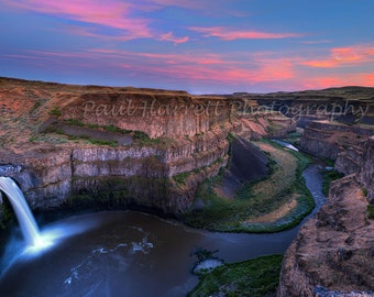 Palouse Falls - Photography - Wall hanging - Fine art prints - Fine Art Photography - Prints - 12 x 18 prints - Nature Print