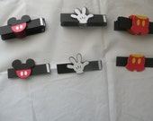 Mickey Mouse Napkin Rings (Set of 12)