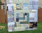 Garden patchwork quilt