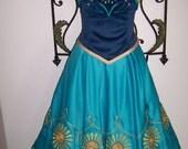 Paymet listing for Kennadeek Custom Anna Frozen Fever Sunflower Embroidered Set Women 2 4 6 8