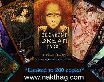DECADENT DREAM TAROT Deck and book.