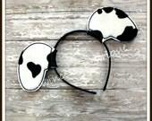Dalmatian Ears Headband - Twincess Bowtique - CUSTOM