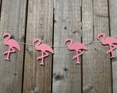Flamingo Garland, Flamingo, Flamingo Party, Flamingo Art, Pink Flamingo, Garland, Flamingo Decor, Bunting, Pink Flamingo, Hen Party, Felt