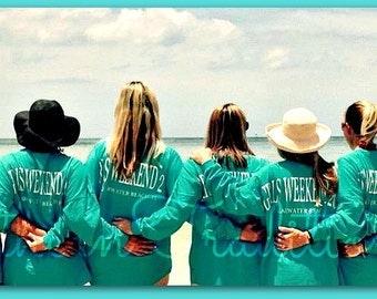 Girls Weekend Spirit Jersey - Large Custom Billboard jersey orders welcomed!