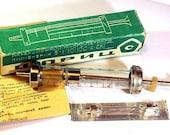 Vintage Made in USSR glass syringe medicine tool, 5 ml