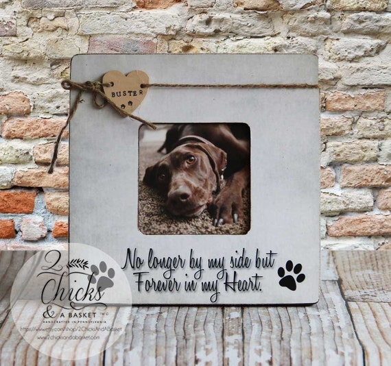 Personalized Pet Picture Frame Pet Name Frame Pet Lover Gift