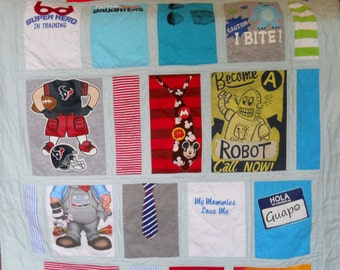 Memory Quilts Baby Clothes Quilts T Shirt Quilts Stadium Quilts Bed Quilts Couch Quilts Custom T Shirt Quilts Custom Memory Quilts Baby