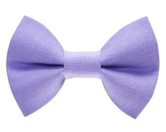 "Cat Bow Tie - ""The Purrrple Rain"" - Purple Cat Bow Tie"