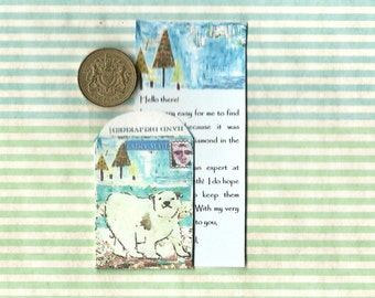 TOOTH FAIRY MAIL - Special Delivery from the tooth fairy, miniature fairy sized letter and matching envelope