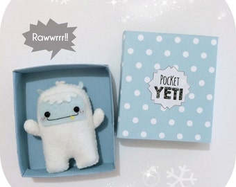 Pocket Yeti - Abominable Snowman - Plush Toy
