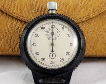 Rare Vintage Sport Chronometer Stopwatch from 1970's Export Version made in USSR
