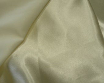 Ivory Satin Fabric 2 yds.
