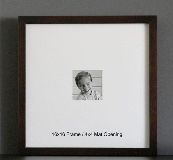 16x16 Picture Frame With Mat Gallery Style Choose Your